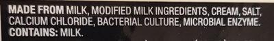 Mozzarella - Ingredients - en