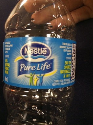 Natural spring water - Product