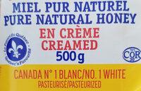 Miel pur naturel - Ingrediënten