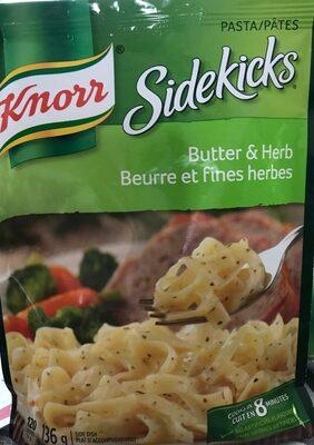 SIDEKICKS pâtes beurre et fines herbes - Product - en