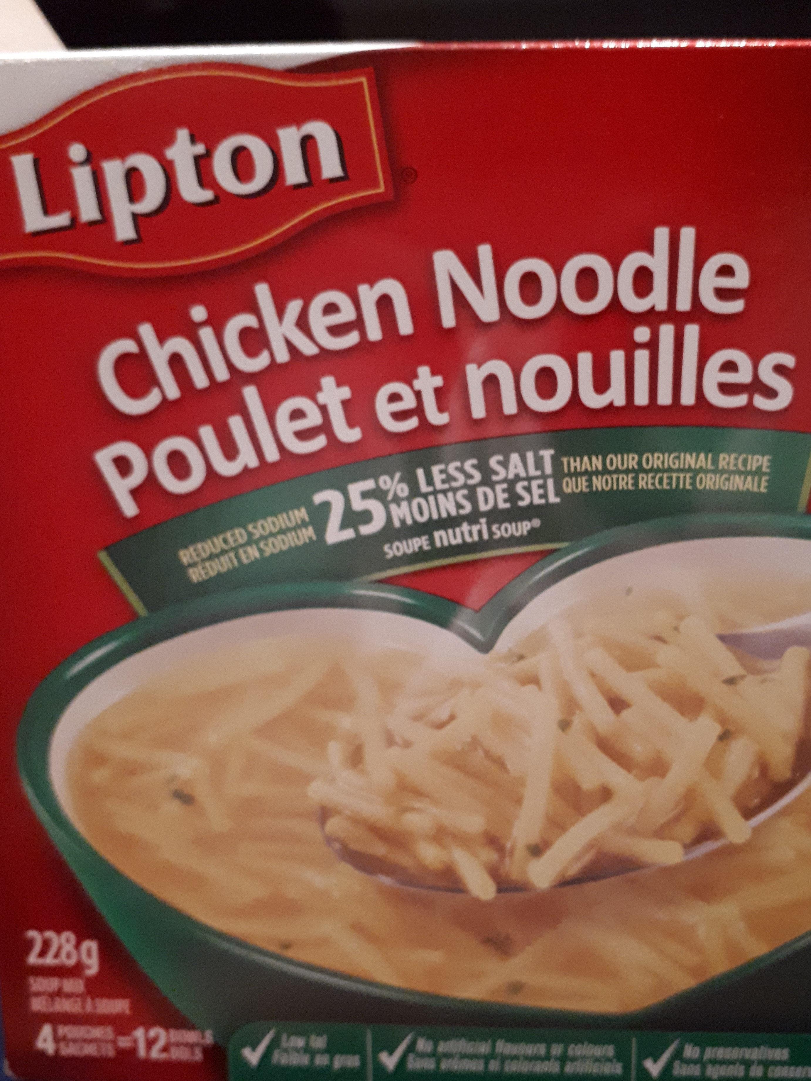 Poulet & Nouilles Légère - Product - fr