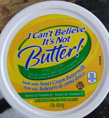 Calorie Reduced Margarine - Product