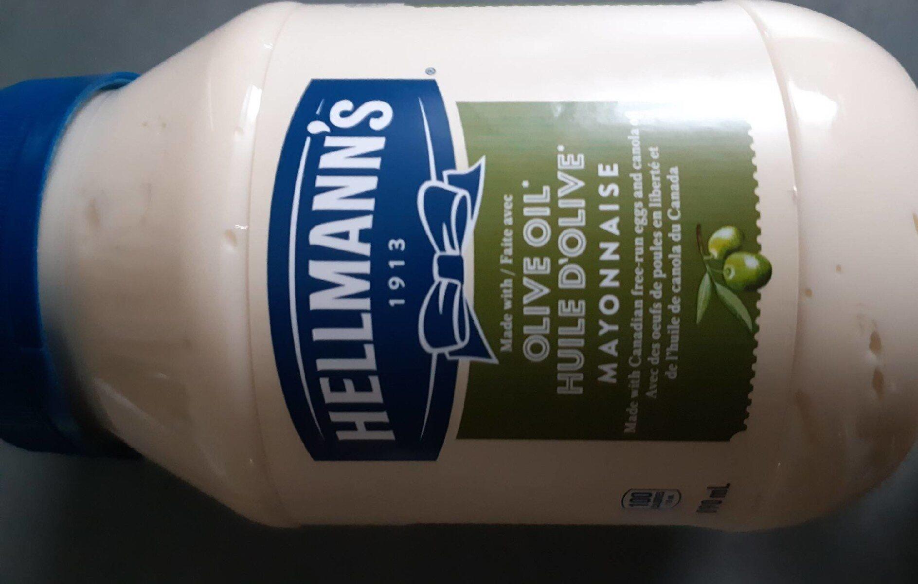 Mayonnaise à l'huile d'olive - Produit - fr