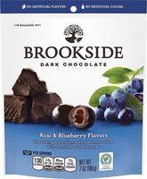Dark chocolate acai & blueberry candy - Produit - en