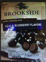 Dark chocolate, acai & blueberry - Produit - en