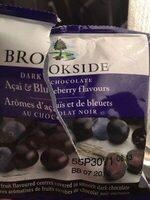 Brookside - Acai&blueberry dark chocolate - Produit - fr