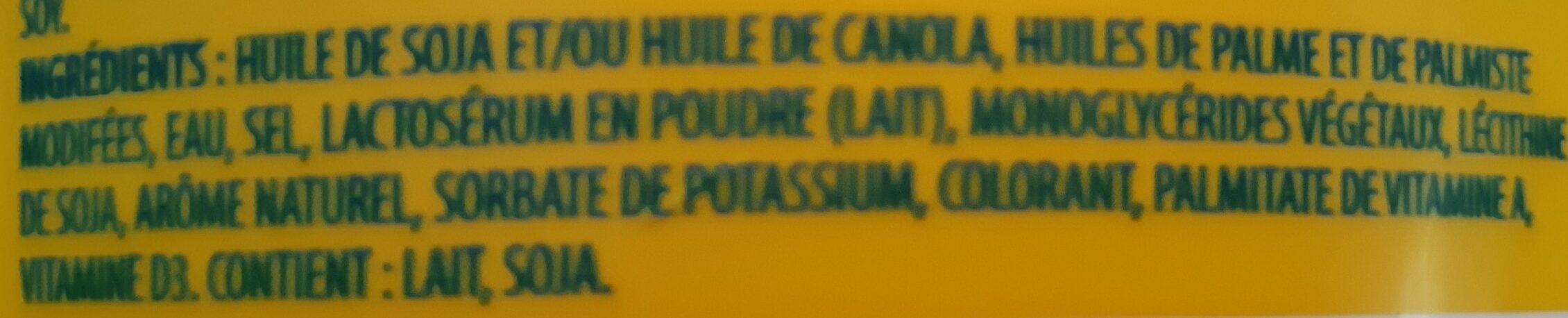 Margarine - Ingrediënten - fr