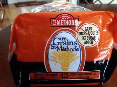 Pain 12 grains moulus (avec lin) - Product - fr