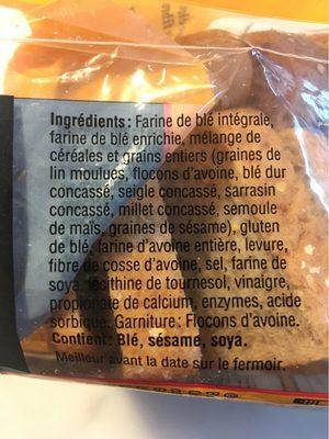 Pain Multi-Céréales - Ingrediënten