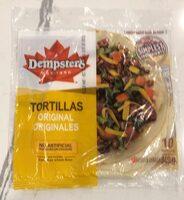 Tortillas - Produit - en
