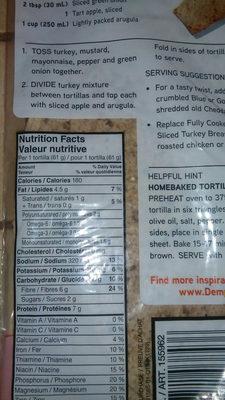 Tortillas grains anciens - Ingrédients - en