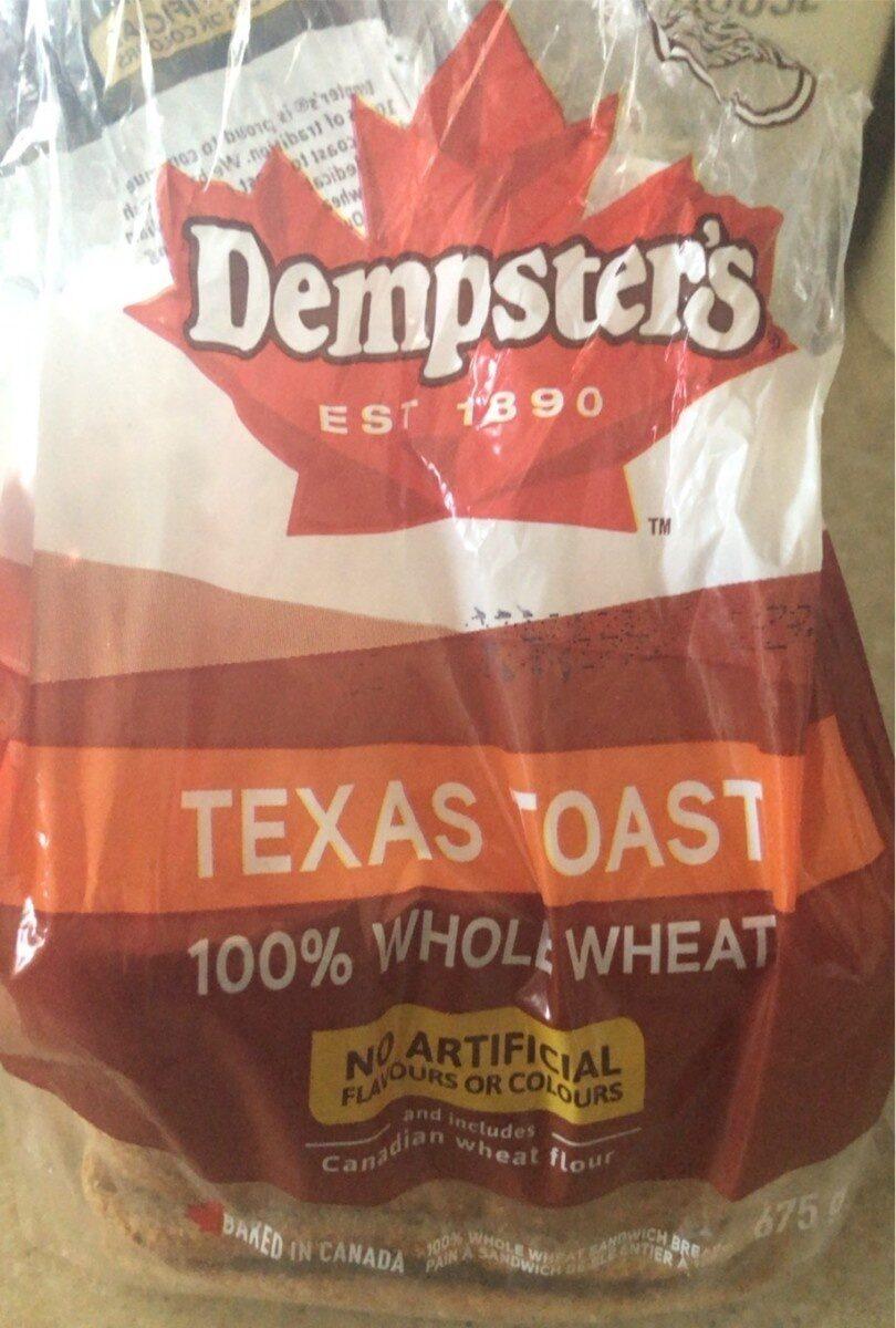 Texas Toast 100% Whole Wheat - Product - en