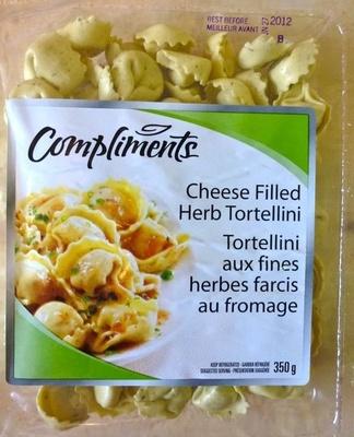 Tortellini aux fines herbes farcis au fromage - Produit
