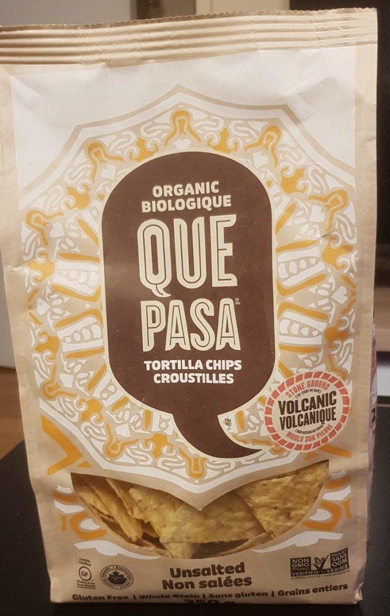 Tortilla Chips Croustilles Bio Non Salée - Product