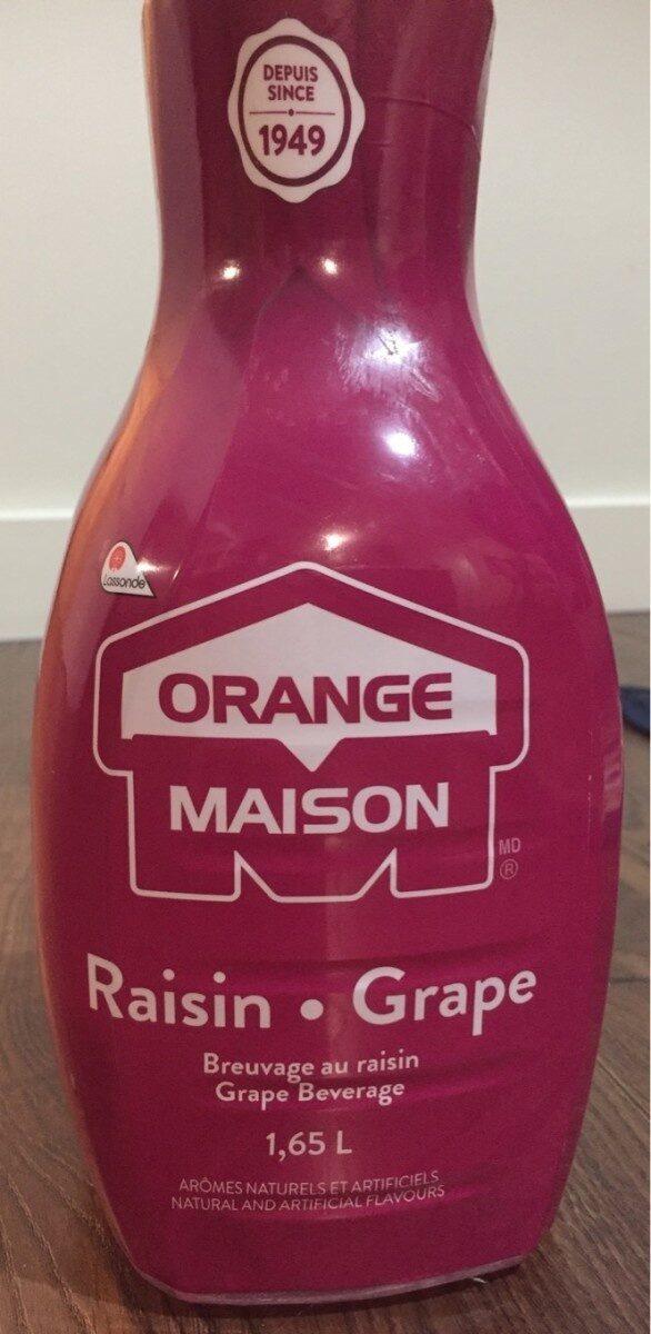 Orange maison jus de raisin - Product - fr