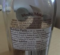 Frappuccino - Nutrition facts - fr