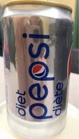 Pepsi diet - Product - en