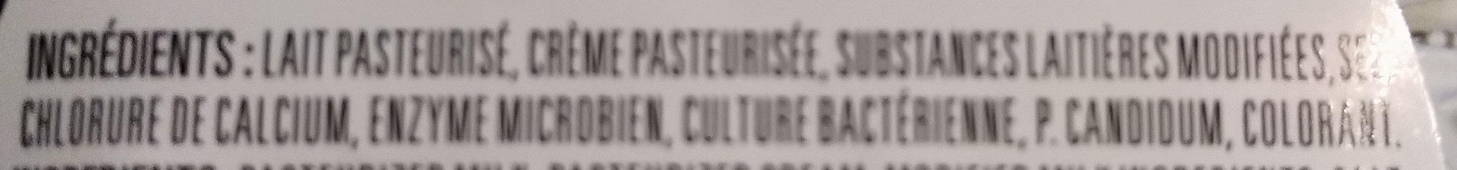 Le Calendos - Ingrédients - fr