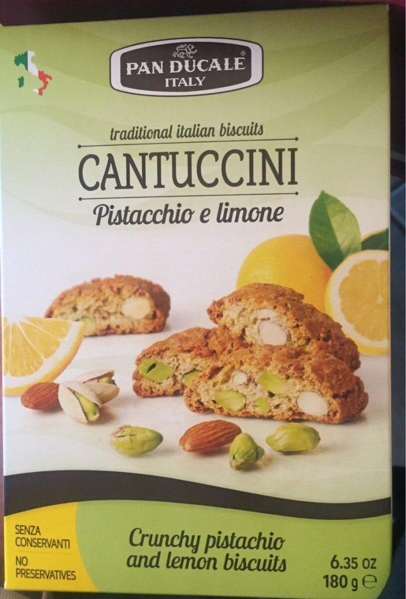 Cantuccini pistacchio e limone - Product - fr