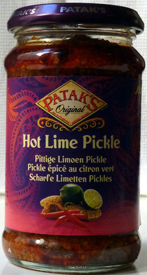 Hot Lime Pickle - Product - fr