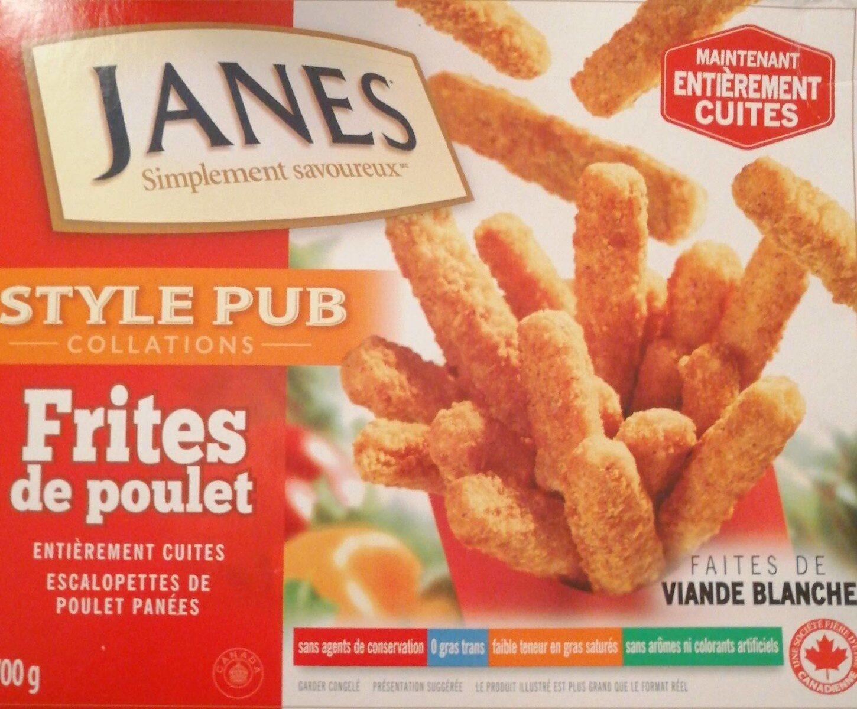 Frites de poulets - Produit - fr