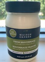 Fresh mayonnaise with olive oil - Product - fr