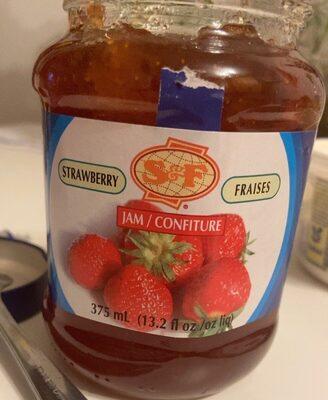 Confiture fraise - Product - fr