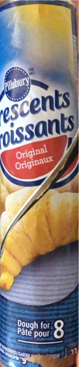croissants originaux pillsbury - Produit - en
