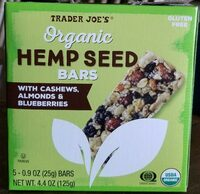 Hemp seed bars - Product