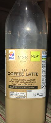 Iced Coffee Latte - Product