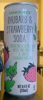 Rhubarb & Strawberry Soda - Product - en