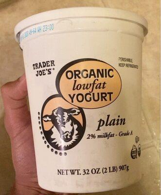 Organic lowfat yogurt - Product - en