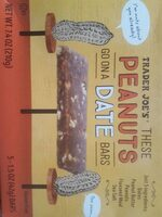 Peanut and date bar - Product - en