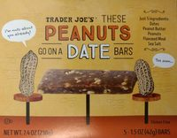 These Peanuts Go on a Date Bars - Product