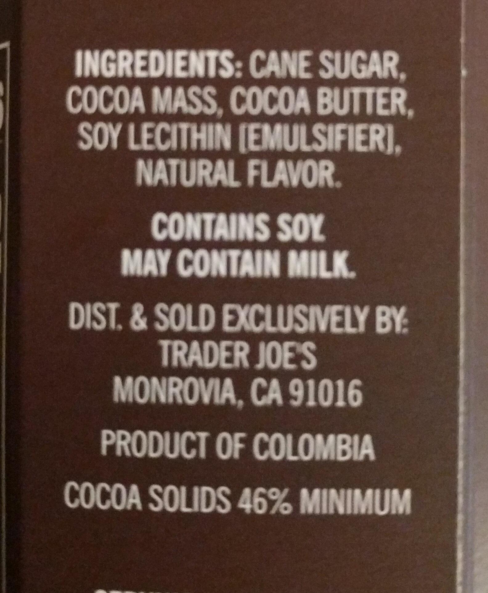 Hot Chocolate Sticks - Ingredients - en
