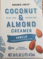 Coconut & Almond Creamer - Product - en