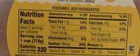 Vegan Mac - Nutrition facts - en