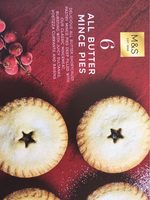 All butter mince pies - Product