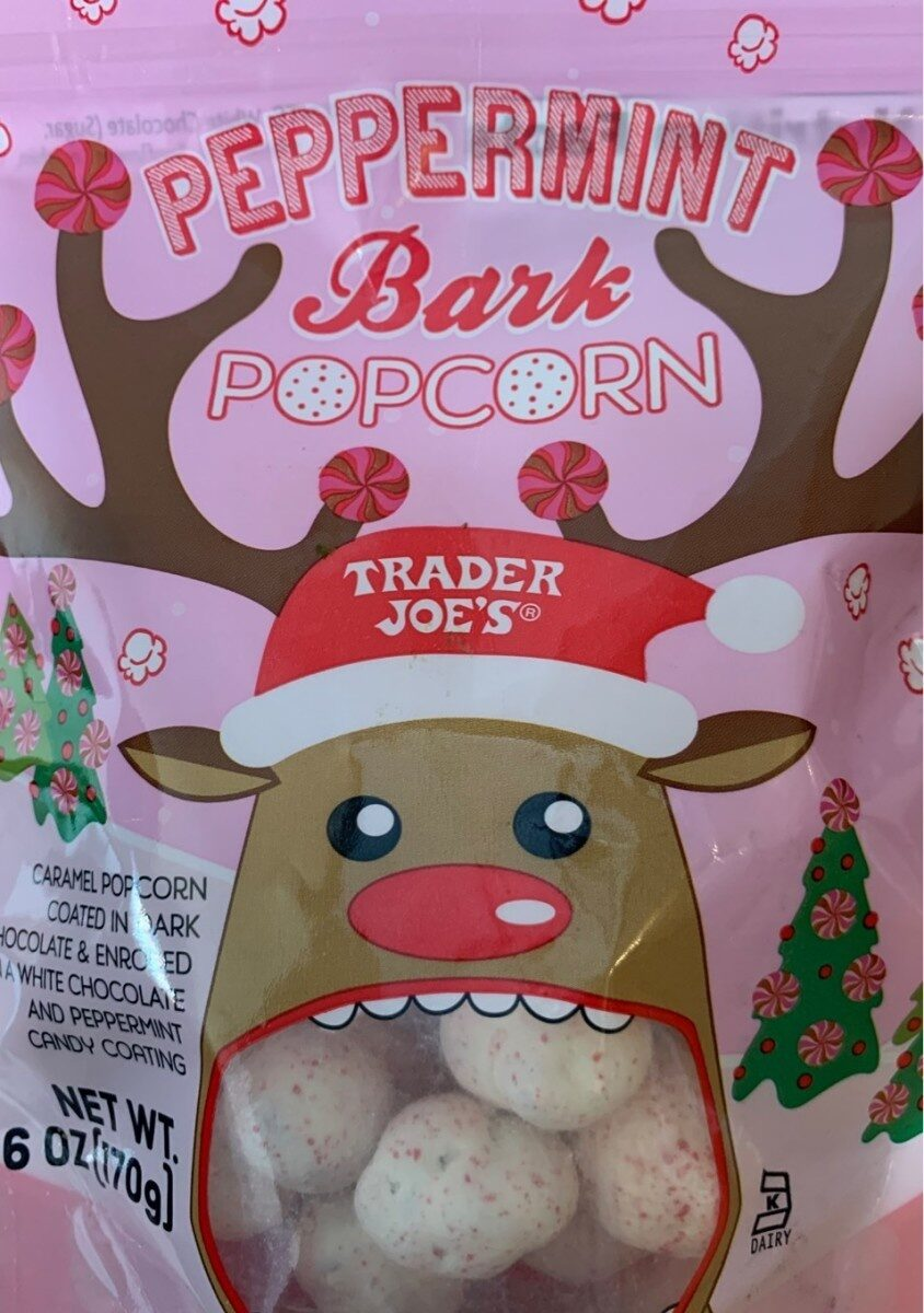 Peppermint Bark Popcorn - Product