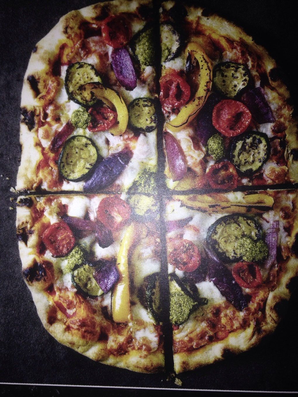 M&S Vegetable Pizza - Nutrition facts