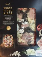 Wood fired pizza - Product