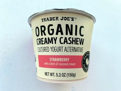 Organic Creamy Cashew Strawberry - Product - en