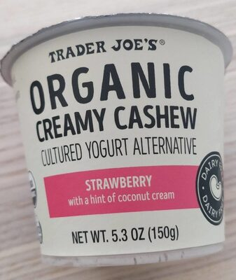 Organic creamy cashew - Product