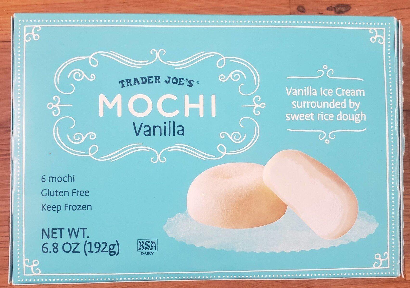 Vanilla mochi - Product