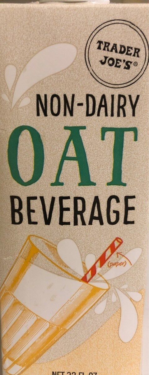 Non-dairy oat beverage - Product