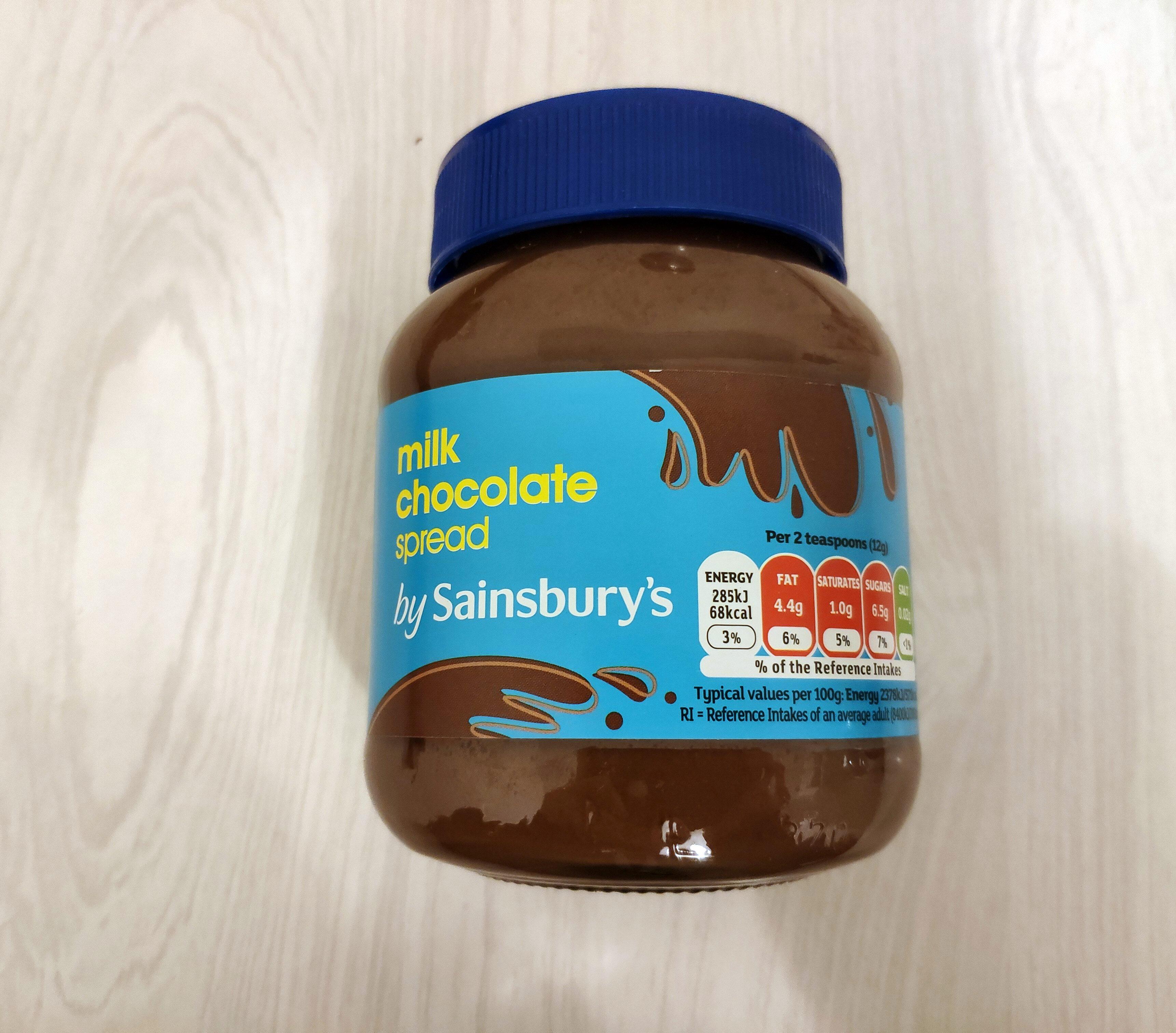 Milk chocolate spread - Prodotto - en