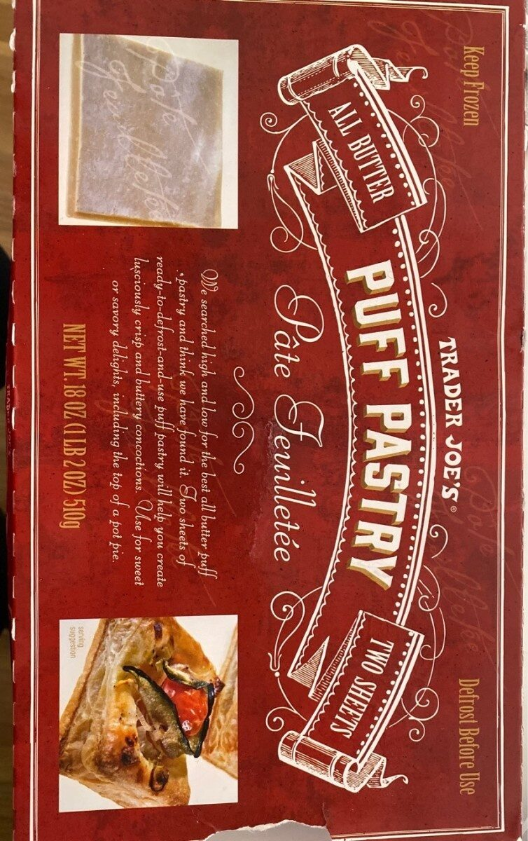 Puff pastry - Product