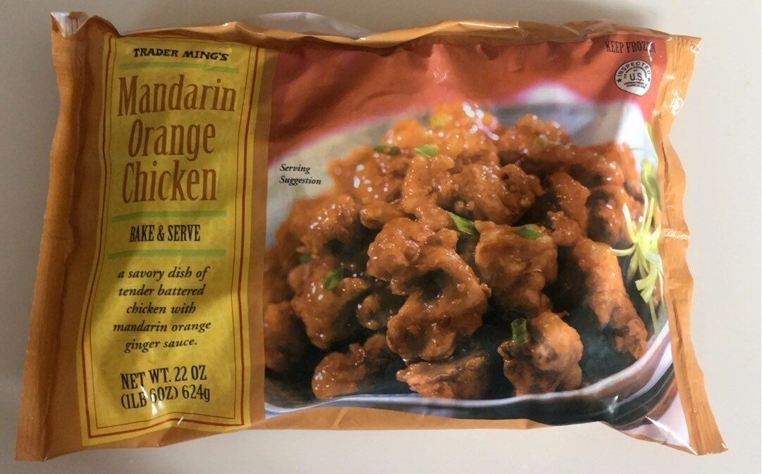 Mandarin Orange Chicken - Product - en