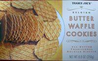 Belgian waffle cookies - Product - en
