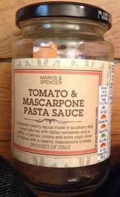 Tomato & Mascarpone Pasta Sauce - Product